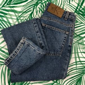 90s Vintage Calvin Klein Regular Wash Mom Jeans